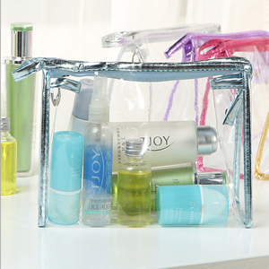 Clear PVC Makeup Pouch Cosmetic Bag