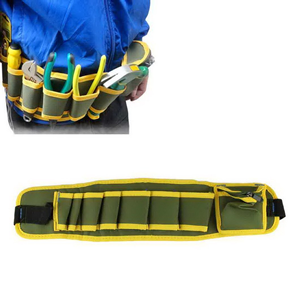 Hot Sale Durable 300D/PVC Coating Polyester Tool/tooling Belt Waist Bag