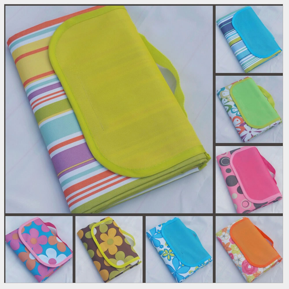 Foldable Large Outdoor Picnic Blanket Waterproof Picnic Camping Beach Mat